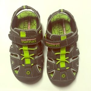 Other - Ninja Turtle sandals Sz 7 toddlers